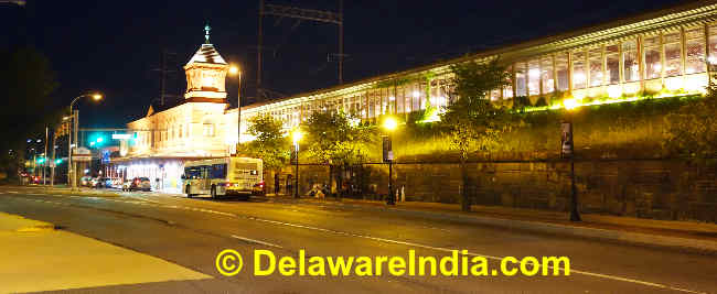 Image © DelawareIndia.com Wilmington Amtrak Station