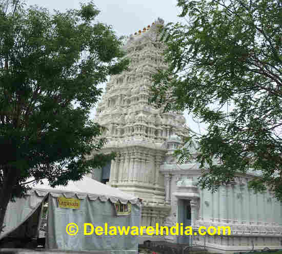 Hindu Temple in Delaware