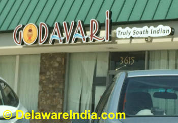 Godavari Wilmington South Indian Restaurant