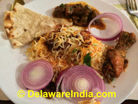 Godavari Wilmington Vegetable Dum Biryani