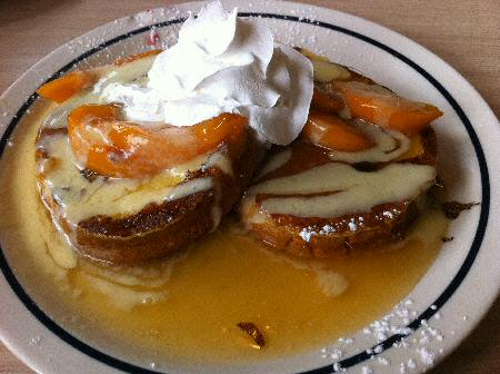 IHOP Peaches and Cream French Toast - Image © DelawareIndia.com