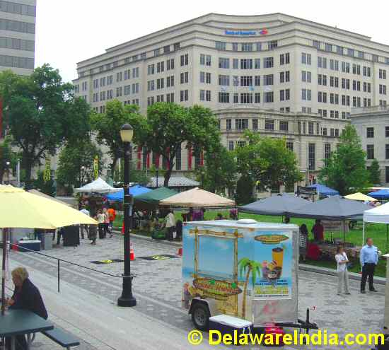 Rodney Square Wilmington Farmers Market