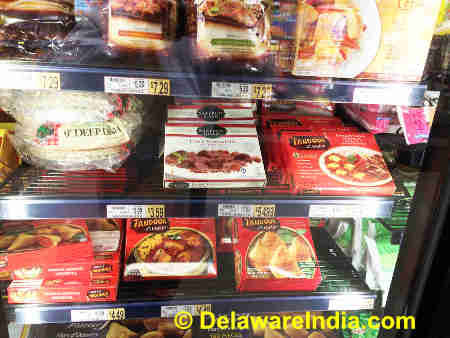 Wegmans Frozen Indian Curry Packets